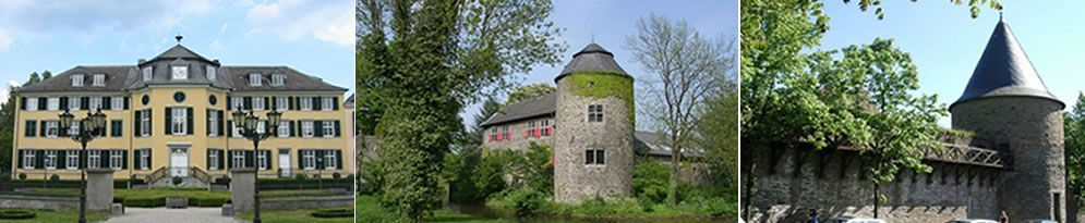 Historisches Ratingen - Schloss Cromford bis Trinsenturm