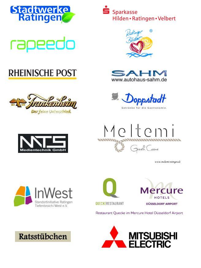 Sponsoren RatingenFestival 2016