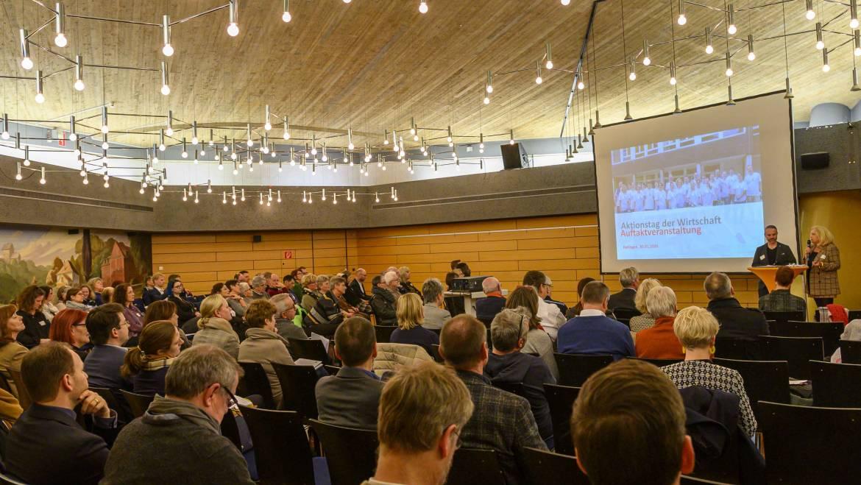 Auftaktveranstaltung zum 3. Aktionstag der Wirtschaft in Ratingen